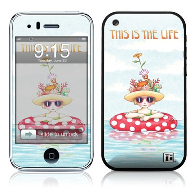 iPhone 3G Skin - This Is The Life