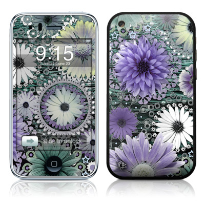 iPhone 3G Skin - Tidal Bloom