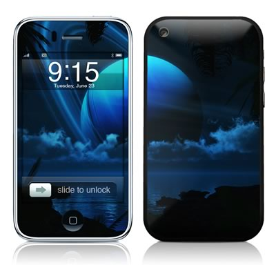 iPhone 3G Skin - Tropical Moon