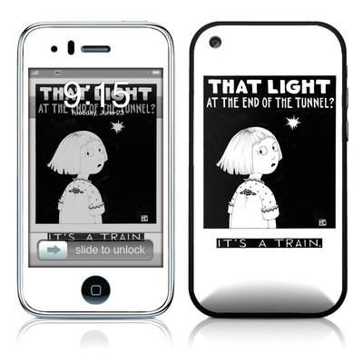 iPhone 3G Skin - Train Tunnel