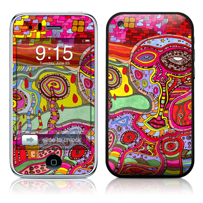 iPhone 3G Skin - The Wall