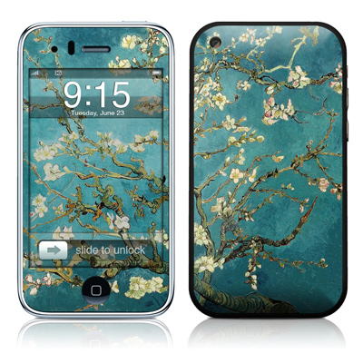 iPhone 3G Skin - Blossoming Almond Tree