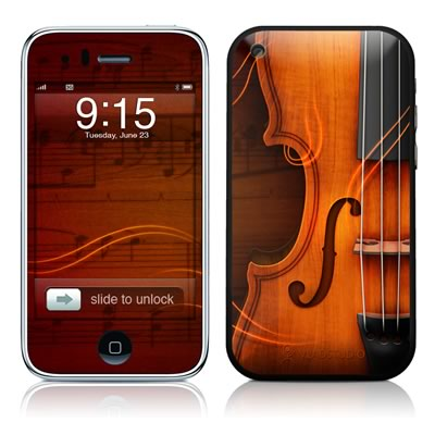 iPhone 3G Skin - Violin