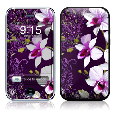 iPhone 3G Skin - Violet Worlds