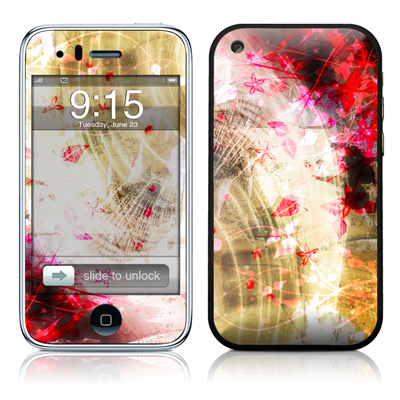 iPhone 3G Skin - Woodflower