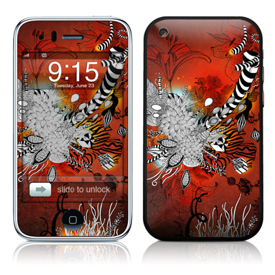 iPhone 3G Skin - Wild Lilly