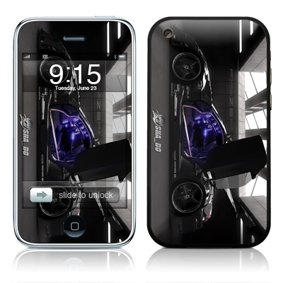 iPhone 3G Skin - Z33 Dark