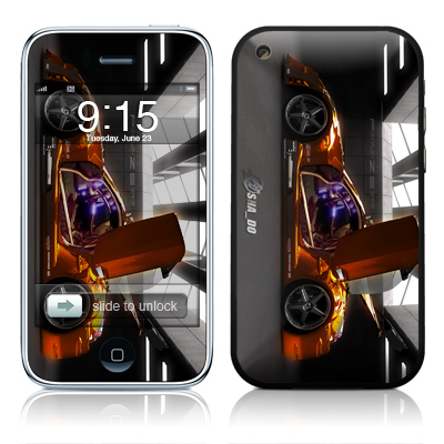 iPhone 3G Skin - Z33 Light