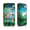 iPhone 4 Skin - Moon Tree