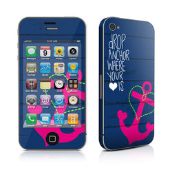 iPhone 4 Skin - Drop Anchor