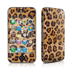iPhone 4 Skin - Leopard Spots