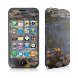 iPhone 4 Skin - Monet - Water lilies