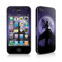 iPhone 4 Skin - Moonlit Fairy
