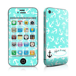 iPhone 4 Skin - Refuse to Sink