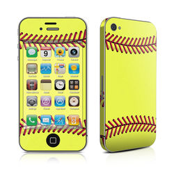 iPhone 4 Skin - Softball