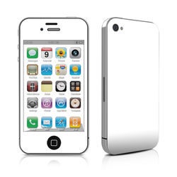 iPhone 4 Skin - Solid State White