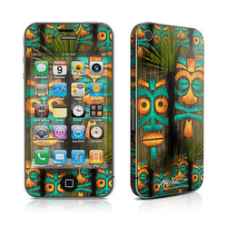 iPhone 4 Skin - Tiki Abu