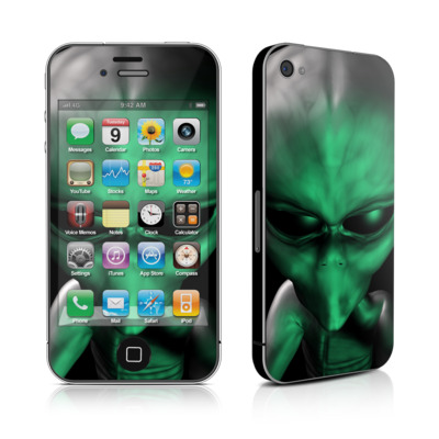 iPhone 4 Skin - Abduction