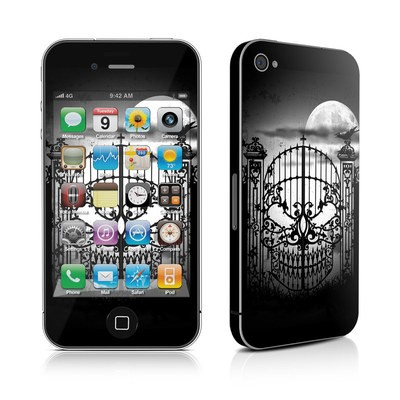 iPhone 4 Skin - Abandon Hope