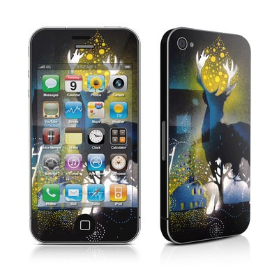 iPhone 4 Skin - Aurora Borealis