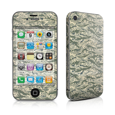 iPhone 4 Skin - ABU Camo