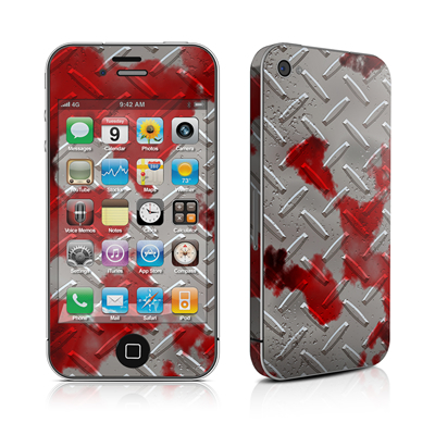 iPhone 4 Skin - Accident