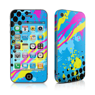 iPhone 4 Skin - Acid