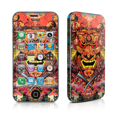 iPhone 4 Skin - Asian Crest