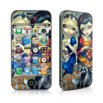 iPhone 4 Skin - Alice & Snow White