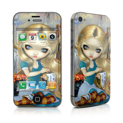 iPhone 4 Skin - Alice in a Dali Dream