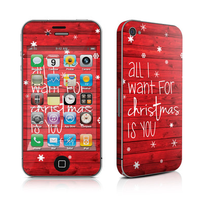 iPhone 4 Skin - All I Want
