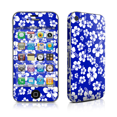 iPhone 4 Skin - Aloha Blue