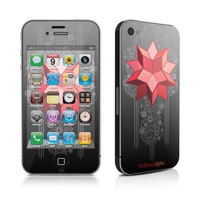 iPhone 4 Skin - WolframIAlpha