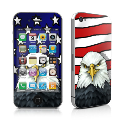 iPhone 4 Skin - American Eagle