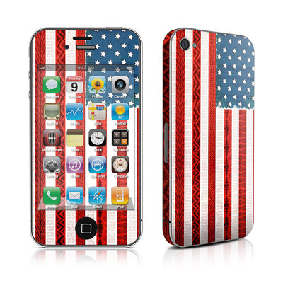 iPhone 4 Skin - American Tribe