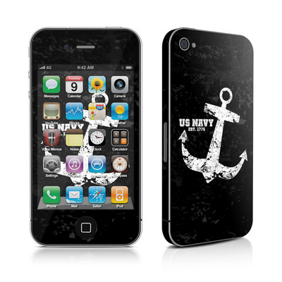 iPhone 4 Skin - Anchor