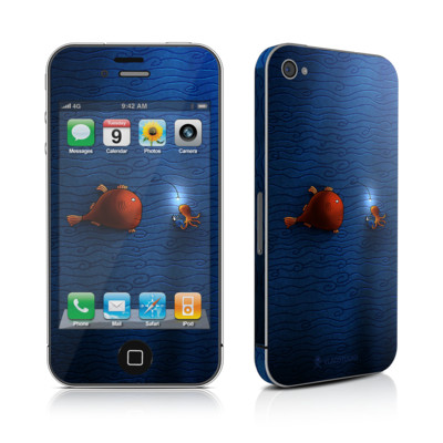 iPhone 4 Skin - Angler Fish