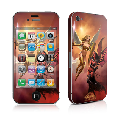 iPhone 4 Skin - Angel vs Demon