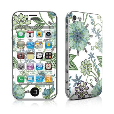 iPhone 4 Skin - Antique Nouveau
