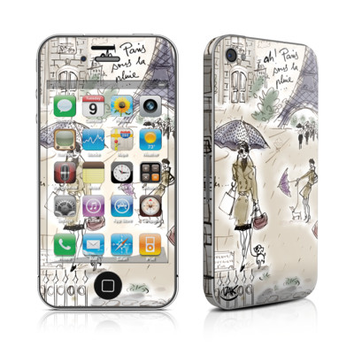 iPhone 4 Skin - Ah Paris