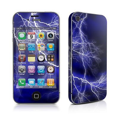 iPhone 4 Skin - Apocalypse Blue