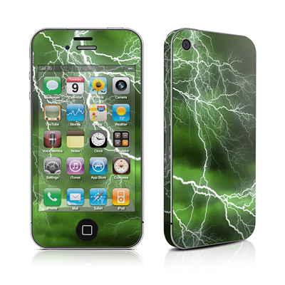 iPhone 4 Skin - Apocalypse Green