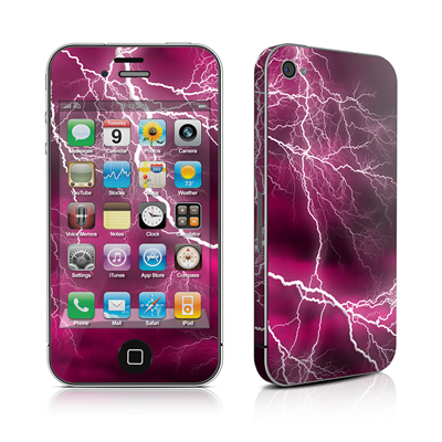 iPhone 4 Skin - Apocalypse Pink