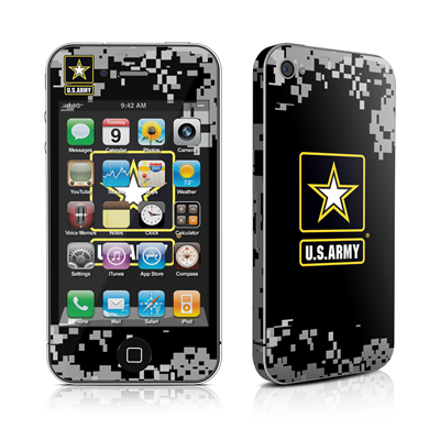 iPhone 4 Skin - Army Pride