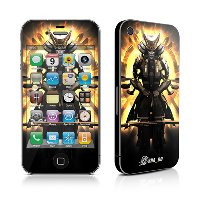 iPhone 4 Skin - Armor 01