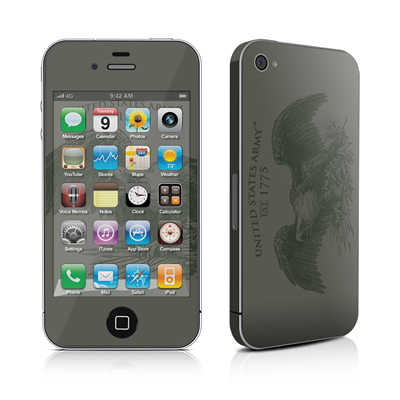 iPhone 4 Skin - Army Crest