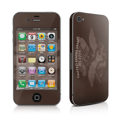 iPhone 4 Skin - Army Preserved