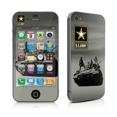 iPhone 4 Skin - Army Troop