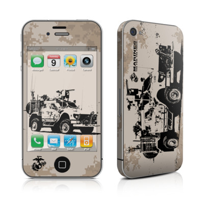 iPhone 4 Skin - Artillery