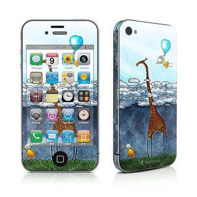 iPhone 4 Skin - Above The Clouds